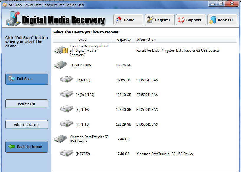 Recover-audio-video-images-from-corrupted-disk-using-minitool-power-data-recovery-for-free