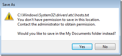 edit-ready-only-file-Error-Msg-on-Save