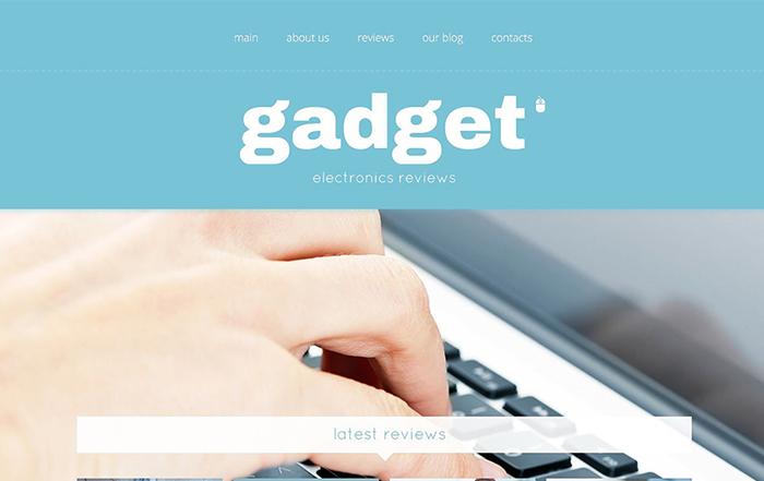 Electronics Store Responsive WordPress Theme