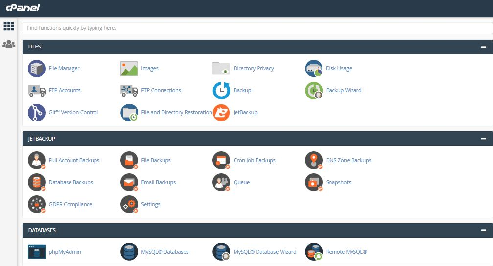interserver-cpanel-user-interface