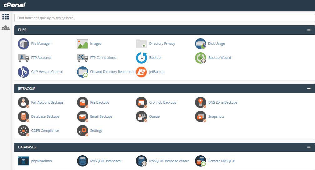 interserver-cpanel-user-interface